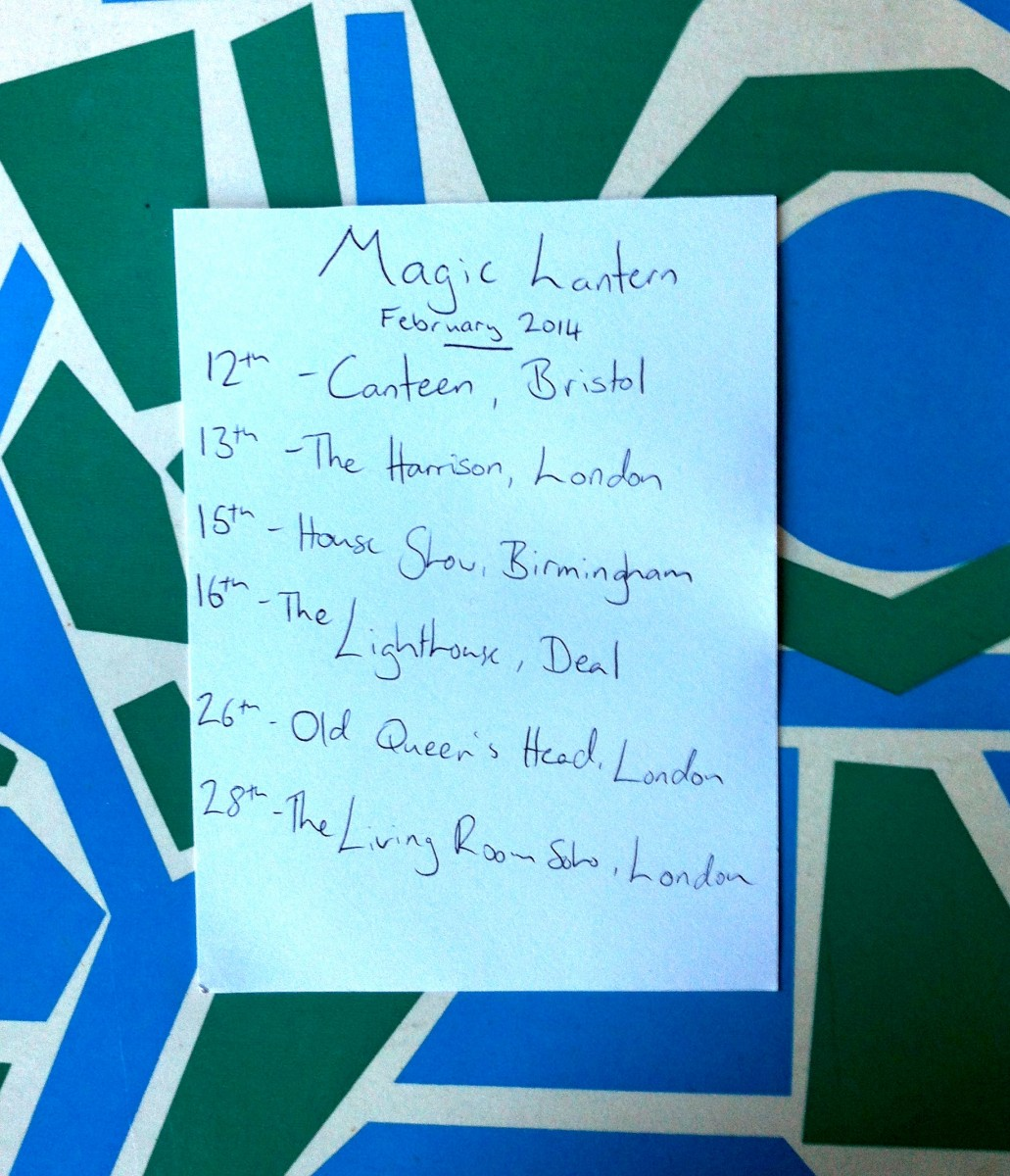 ML Feb gigs